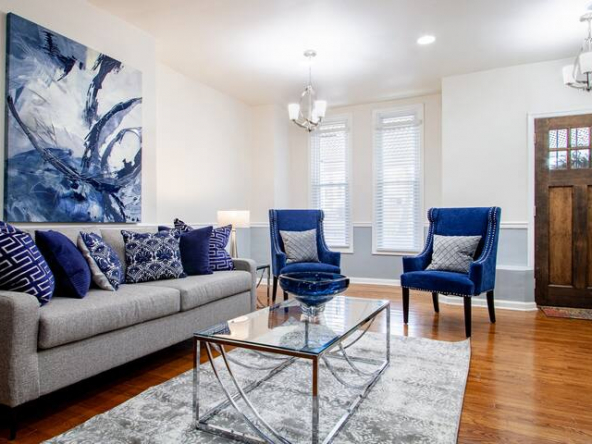 large 47344011 1113994481 1 592x444 - Noma entire 3-BR townhome • Union market • H St / DC Streetcar