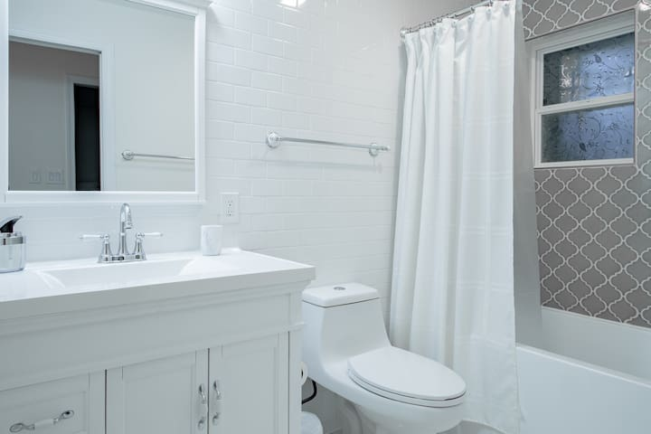 Wash room area